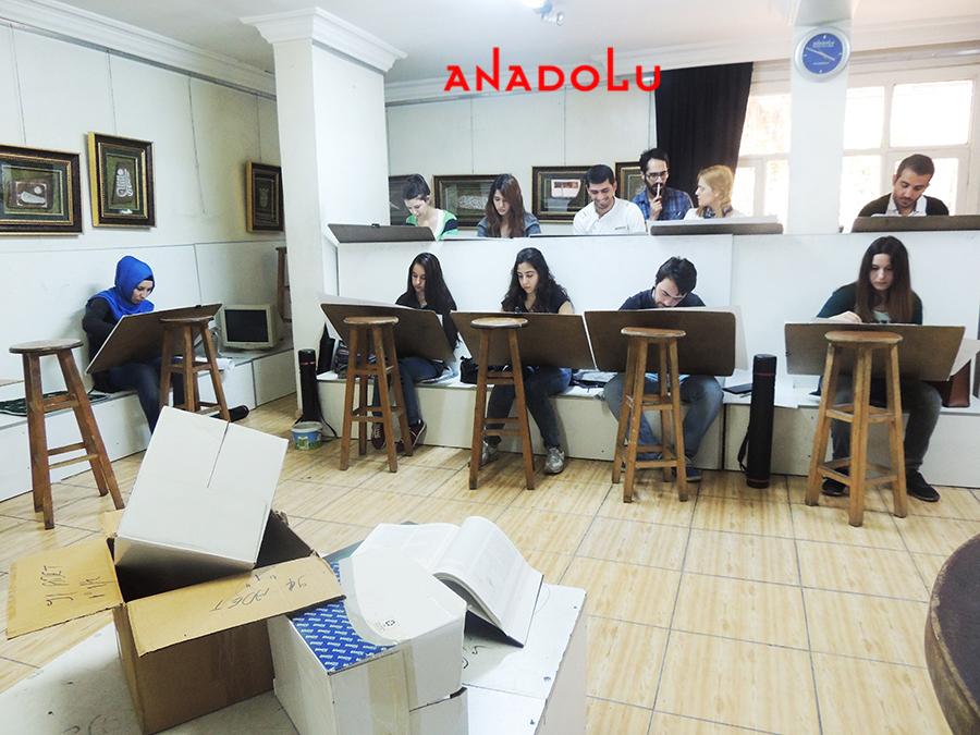 Çanakkalede Anadolu Güzel Sanatlar