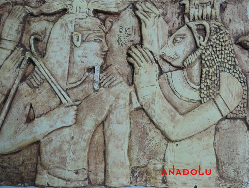 Antik çağ Rölyefleri Yapımı Çanakkalede