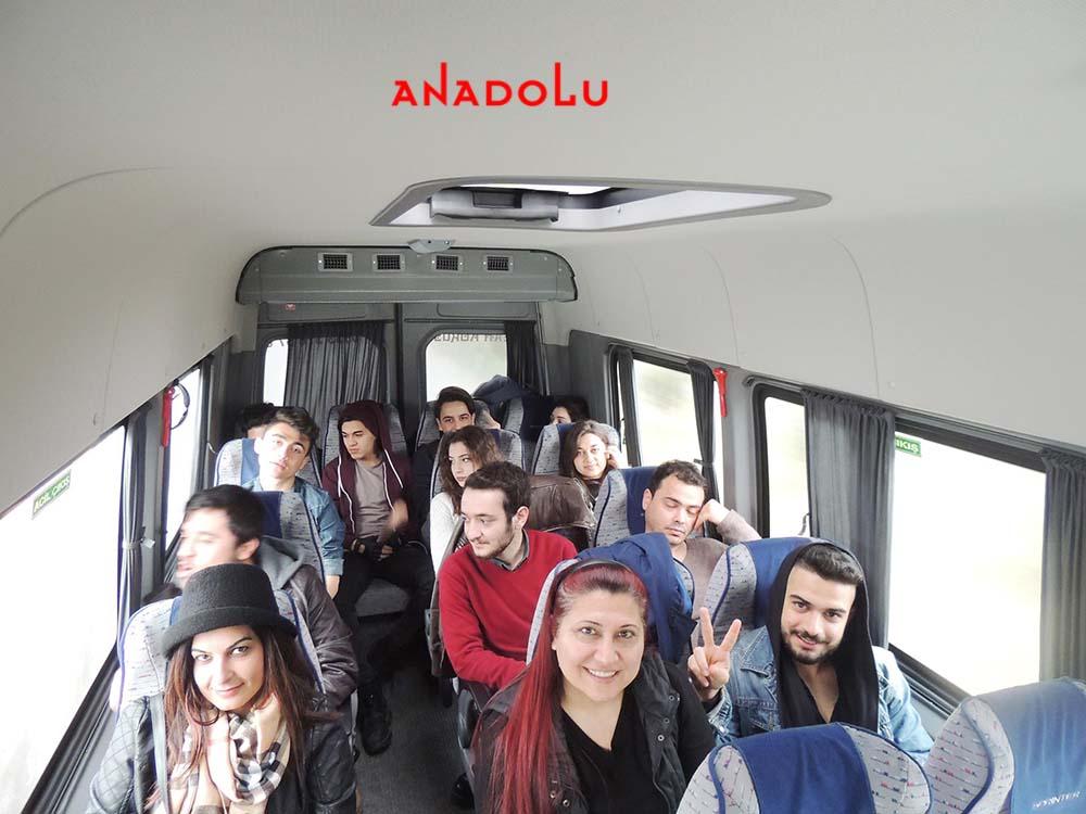 Anadolu Güzel Sanatlar Öğrencileri İle Sınavlara Gitme Çanakkalede