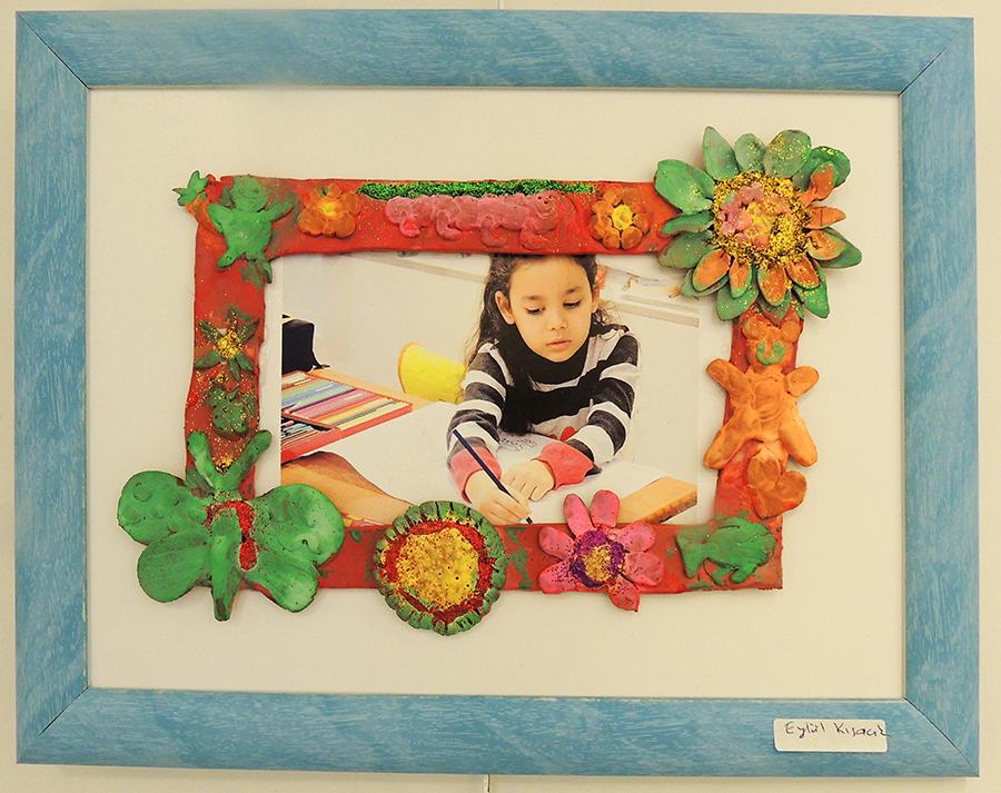 Çanakkalede Çocukların Yaptığı Kabartma Heykel Sergisi