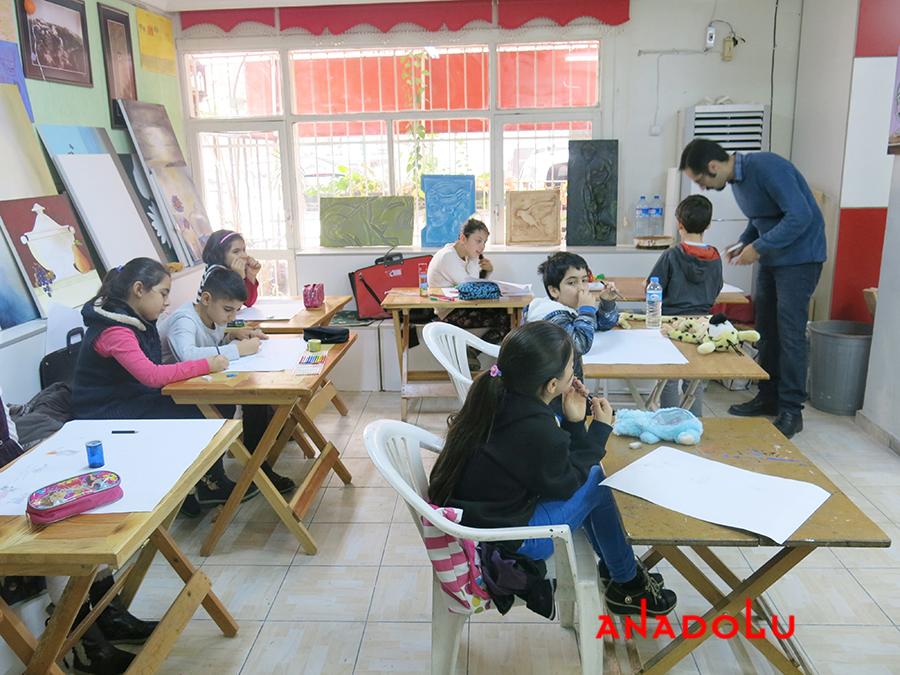Çocuklar İçin Geliştirilebilir Yetenek Eğitimleri Devam Etmekte Çanakkalede