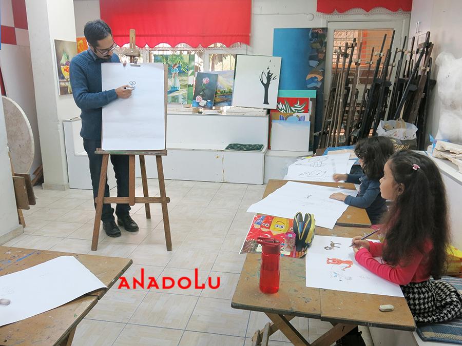 Çocuklar İçin Çizim Eğitimleri Çanakkalede
