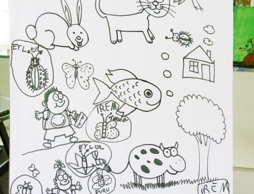 Çanakkaledeki Hareketli Hayvan Çizim Örnekleri