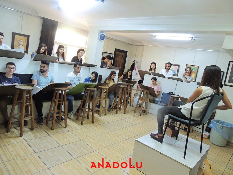 Çanakkalede Güzel Sanatlara Fakülteleri Hazırlık Sınıfları