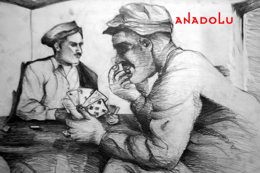 Anadolu Karakalem Örneği Çanakkalede