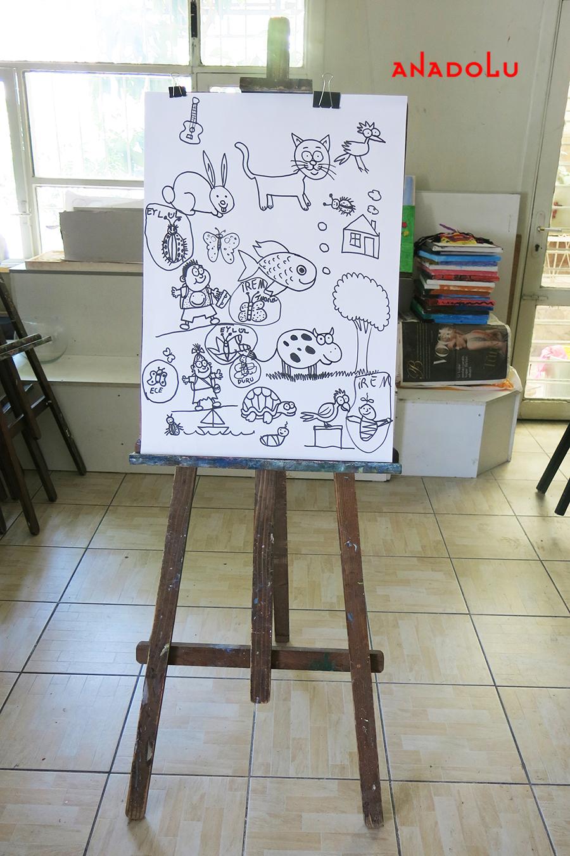 Çocuklar İçin Karikatür Örnekleri Çanakkalede