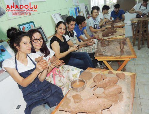 Çanakkaledeki Heykel Dersleri Eğitim Programı