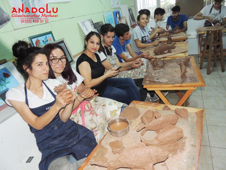 Heykel Dersleri Hobi Grupları Çanakkale