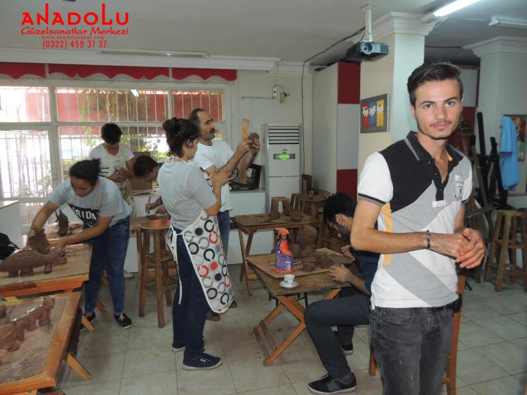 Heykel Grup Dersleri Kilden Tasarımlar Çanakkalede