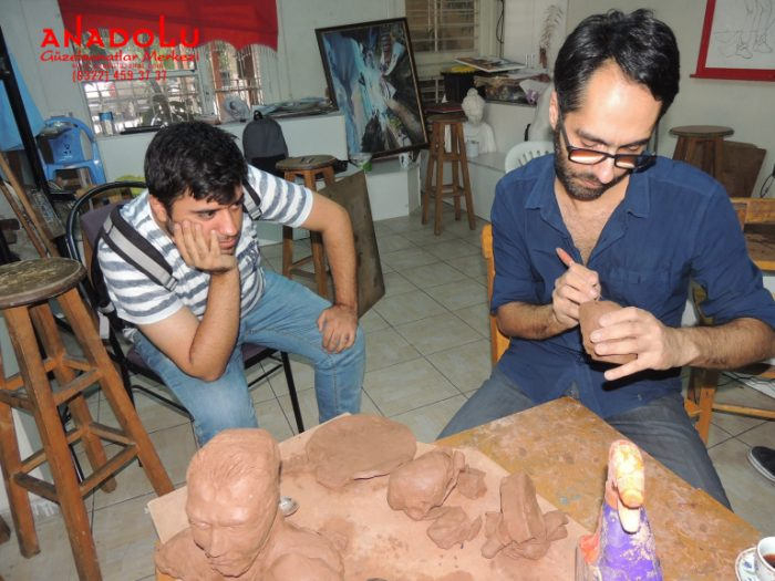 Hobi Grubu Heykel Dersleri Çanakkalede
