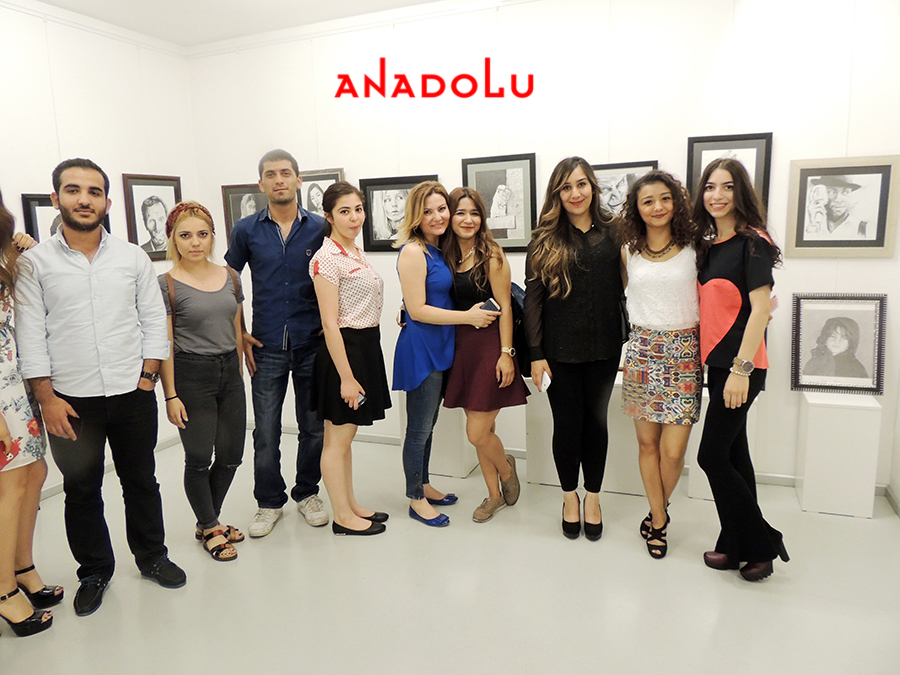 Çanakkalede Anadolu Güzel Sanatlarda Sergi Açılışları