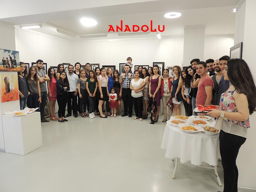 Anadolu Güzel Sanatlarda Sergi Açılışları Çanakkalede