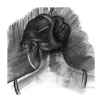 Karakalem Portre Çanakkalede