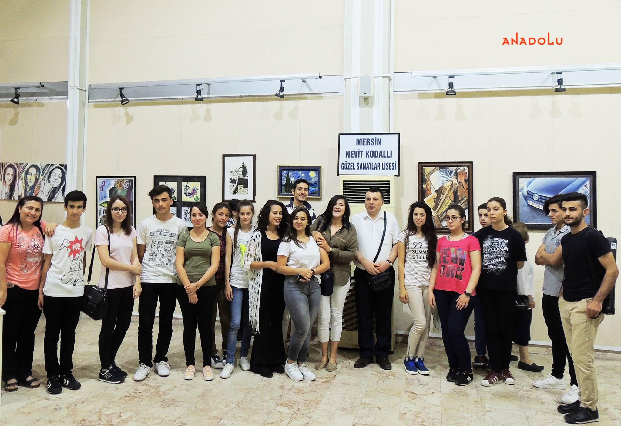 Anadolu Güzel Sanatlar Resim Sergilerden Çanakkalede