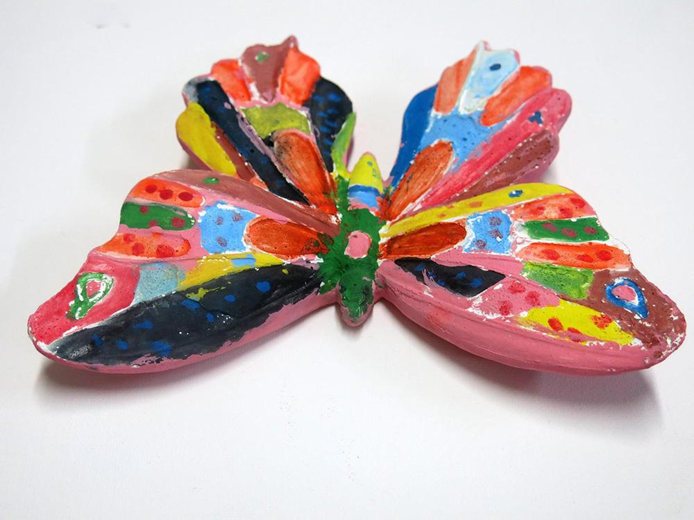 Çanakkale Çocuk Kelebek Boyaması