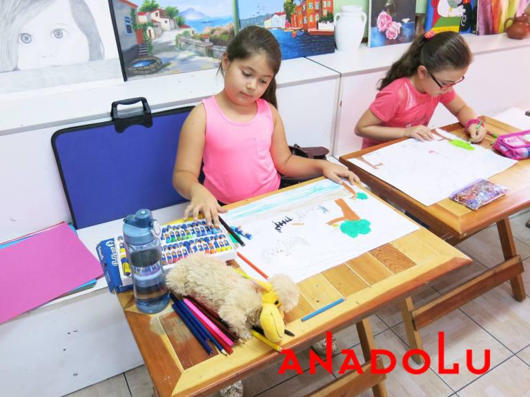 Çanakkalede Çocuklara Yönelik Pastel Boyama Kursu