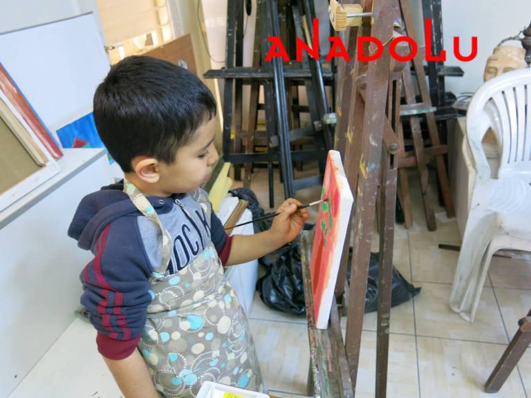 Çocuklara Yönelik Sanat Dersleri Çanakkalede