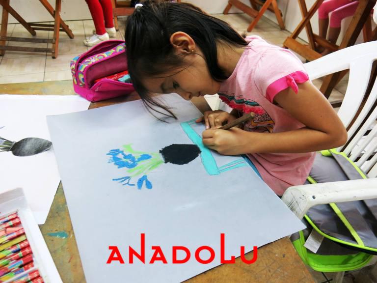 Çocuklar İçin Güzel Sanatlar Kursu Çanakkalede