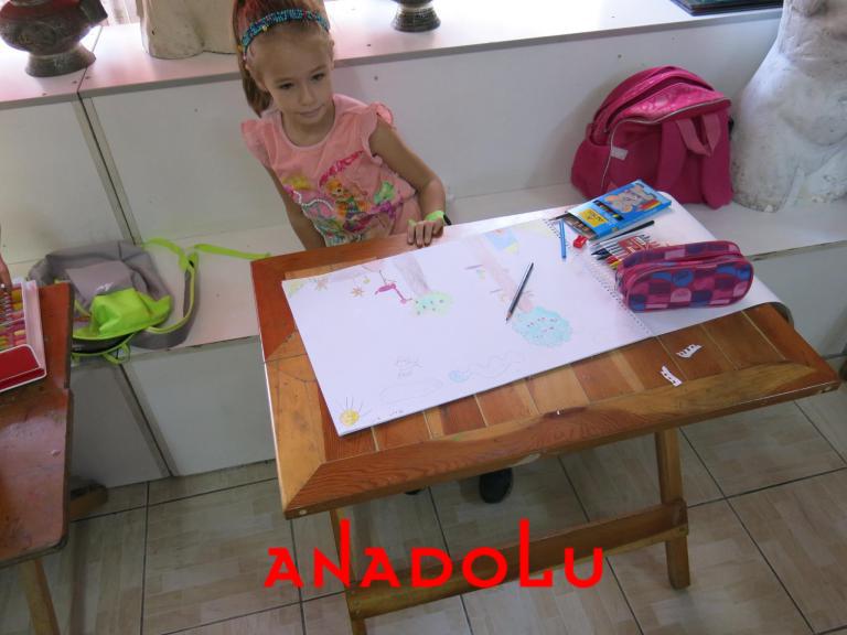 Çocuklar Yönelikler Güzel Sanatlar Kursu Çanakkalede