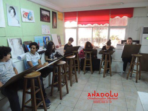 Anadolu Güzel Sanatlar Liselerine Hazırlık Kursları Çanakkalede