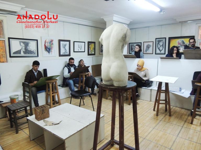 Güzel Sanatlar Fakülteleri İçin Çizim Kursları Çanakkalede