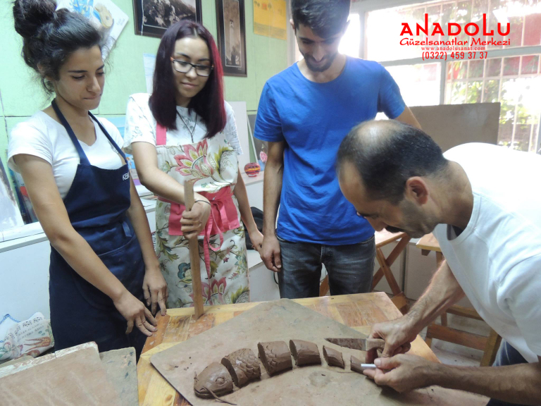 Kilden Soyut Heykel Yapımı Çanakkale
