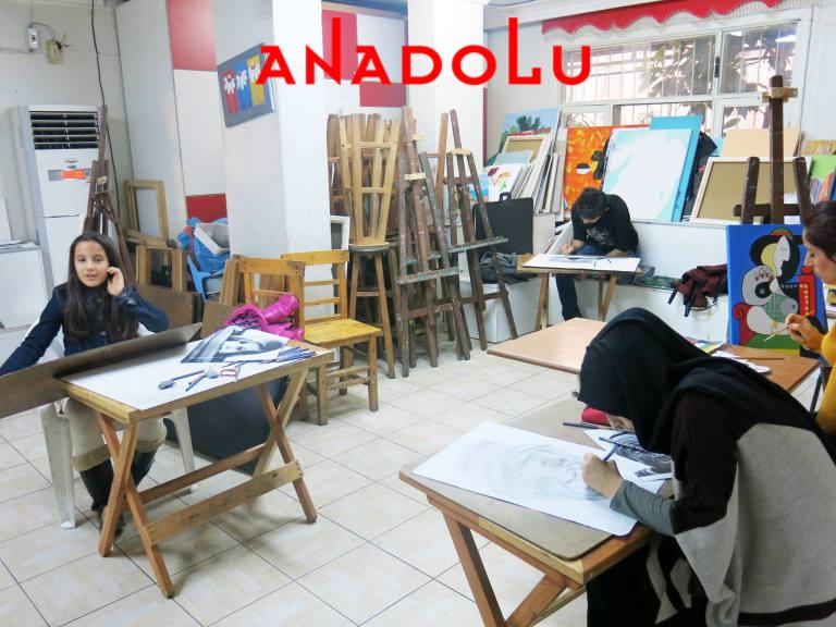 Üniversite Hazırlık Grupları Çizim Dersleri Çanakkalede