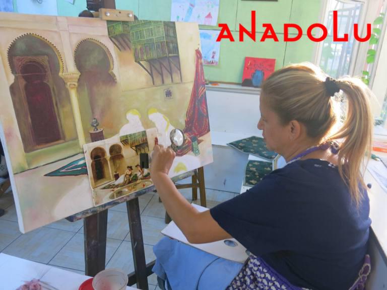 Yağlıboya Manzara Çalışmaları Hobi Grupları Çanakkalede