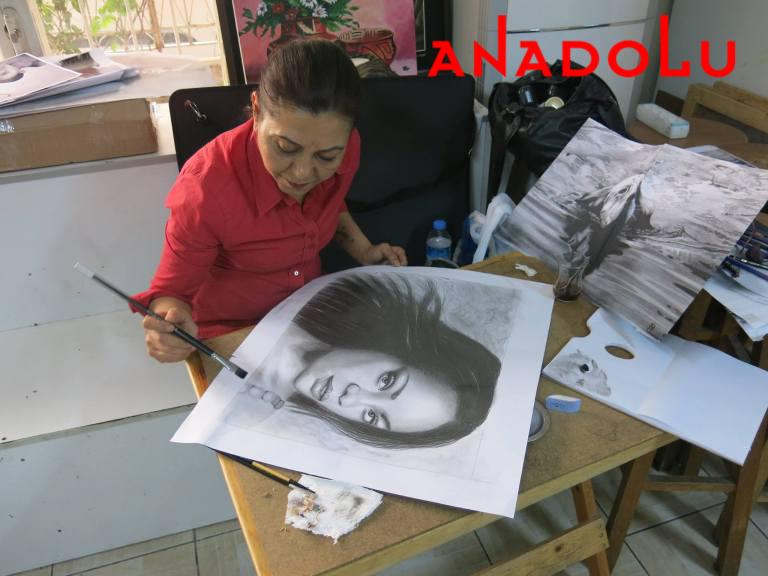 Hobi Dersleri Karakalem Çalışması Çanakkale