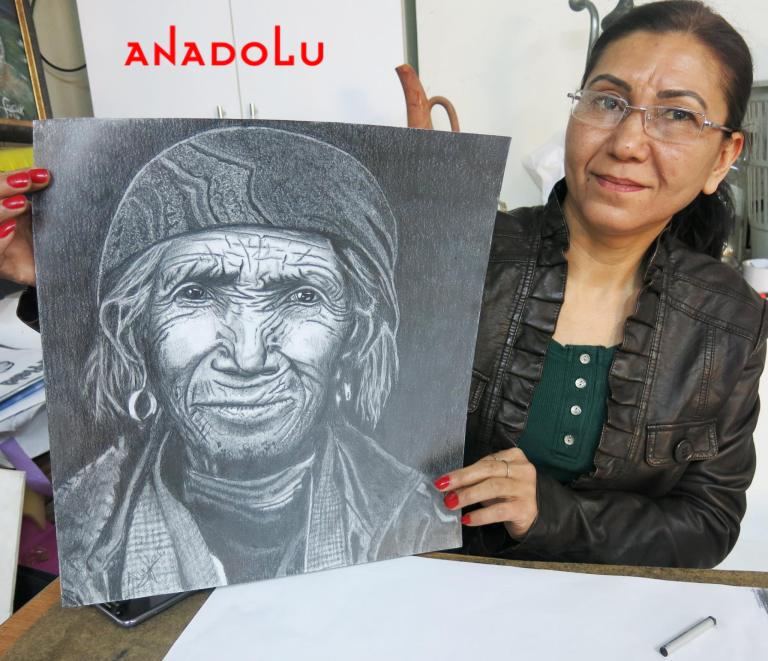Hobi Karakalem Çizimi Çanakkale