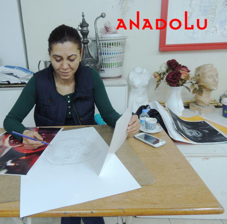 Hobi Sergisi Kurukalem Çalışması Çanakkale