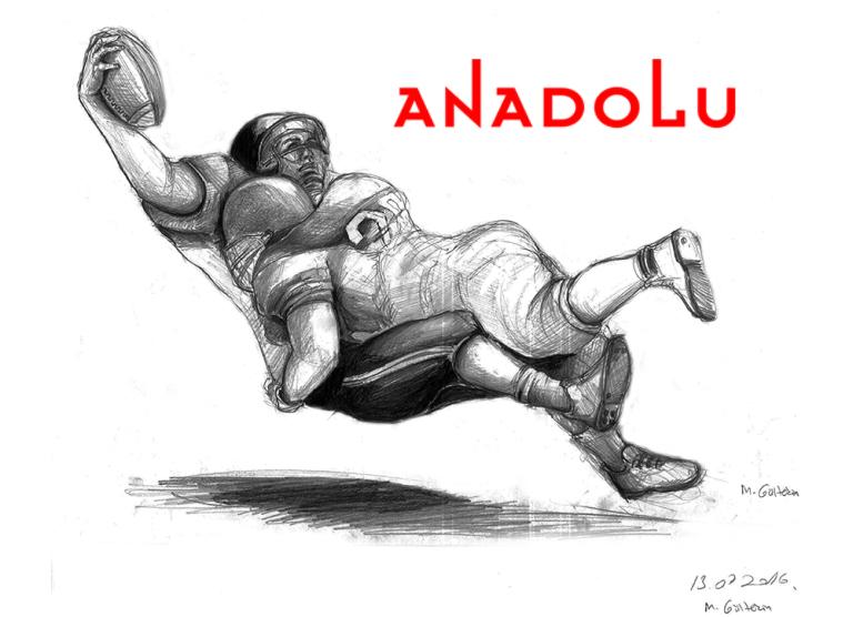 Karakalem Amerikan Futbolu Oynayanlar Çanakkale