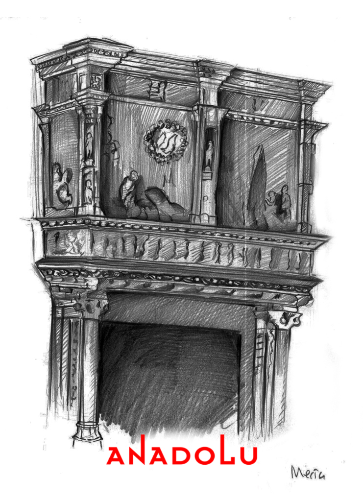 Karakalem Perspektif Çizim Örnekleri Çanakkalede