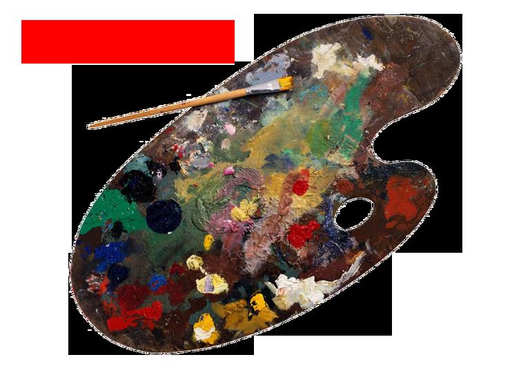 Yağlı Boya Paleti Çanakkalede